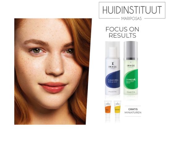 Actie korting op producten van Image Skincare